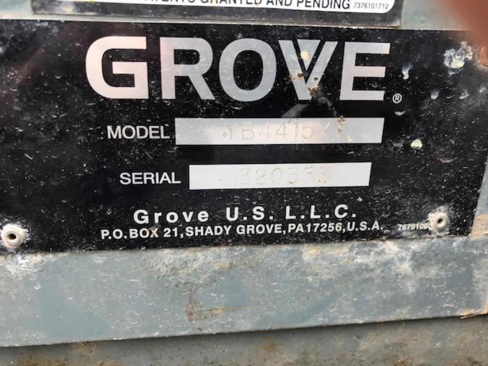 Grove YB4415XT Crane image 4