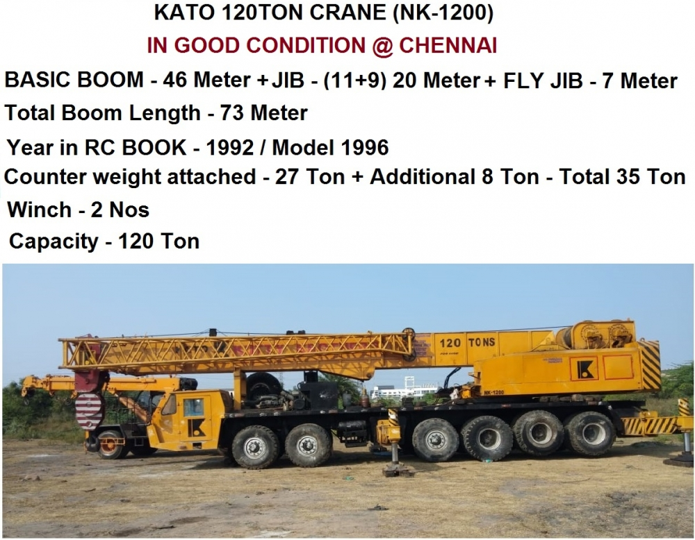 Kato NK1200 Crane image 1