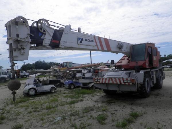 1997   Tadano  TR280XL1  Rough Terrain Cranes