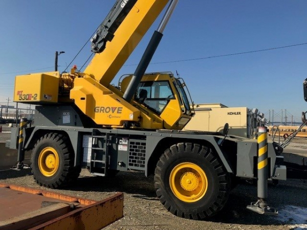 2013  Grove RT530E-2 Rough Terrain Cranes