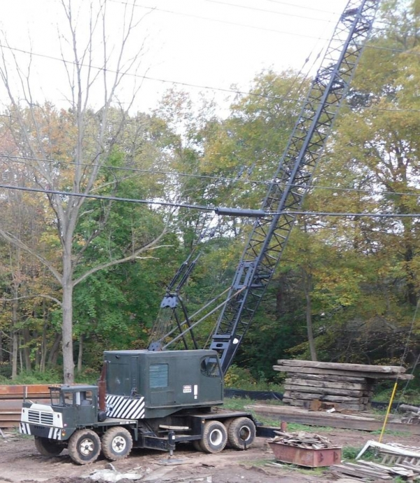 1970  Bucyrus-erie 60T Lattice Boom Truck Cranes