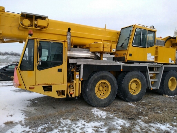1995   Demag  AC155  All Terrain Cranes