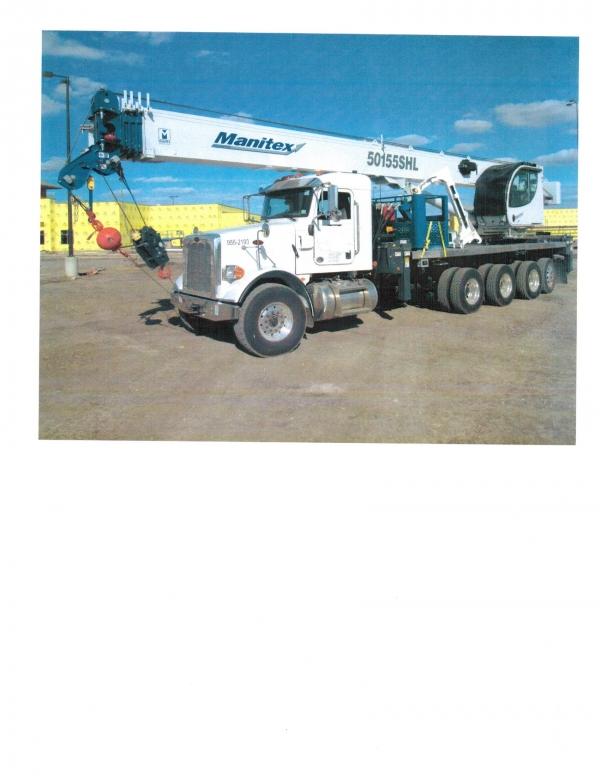 2015   Manitex  50155SHL  Boom Trucks