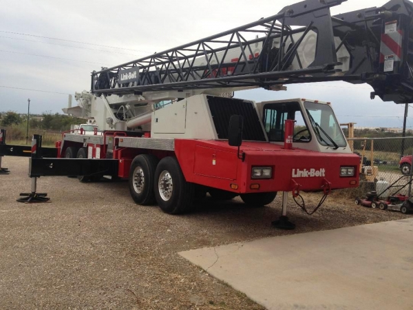 2007  Link-belt HTC8660 II All Terrain Cranes